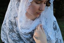 What's New? / See the latest veil creations from our online store. rosamysticamantilla.com