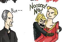 Brienne and Jaime.