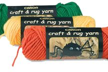 Yarn / Thread by Caron / A nice selection of yarn that Caron carries / by Bobbie Asche