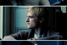 Peeta and Katniss
