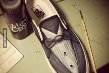 Creative Wedding shoe ideas / Creative ways of personalizing you're wedding shoes.
