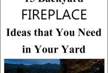 Fire puts and backyard fireplaces