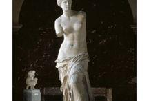 Greek art Marble statuary / Greek marble statue - Greek marble kore - Greek marble Kouros- Greek marble child - Greek children statue