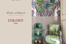 Design week 2015 with Colony / Set for Design week 2015 in Milan, in collaboration with Colony Roma  Allestimento per il Salone del mobile 2015 in collaborazione con Colony Roma   http://www.colonyfabrics.com/
