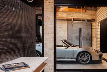 CARS & buildings / cool garages & parking places