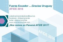 Investigación sobre emprendiento / Grupo AFIDE EMPRENDE