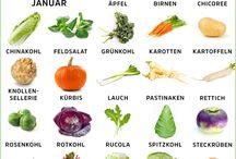 Saisonkalender Januar