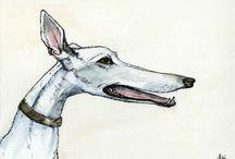 Art: Sighthounds