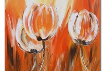 Abstract tulp