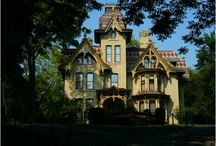 Restoration of Homes and Home Improvement. / Victorian Homes in the United States, and Restoring your Old house with new ideas and plans. Home improvement ideas and creative ways to landscape homes.