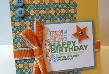 Papercraft -  Birthdays