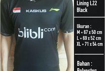 Jersey Badminton / cari kaos badminton yang murah tapi berkualitas? Di sini tempatnya