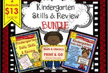 TN  PRODUCTS I LIKE:  K-2 / A collection of products that I like for grades K-2 that can be found on Teachers Notebook...some are paid and some are free.