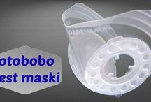 Totobobo SMOG Mask / Test maski do biegania Totobobo