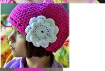 Vzory na háčkované klobouky