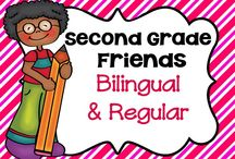 * Second Grade Friends Bilingual and Regular Education / This board is for pinning fun lessons and ideas that are great for bilingual and regular education students.  Not too many rules to follow... but please be mindful....I'm thinking maybe pin 1 paid product for every 3 non-paid ideas....(5 paid pins/day) (or UNLIMITED free pins or ideas) just a thought. Happy pinning!!! Leave me a comment on my latest pin if you would like to be added....or ask any pinner to add you.