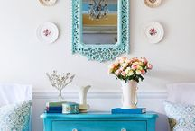 Bedrooms in Turquoise Blue <3