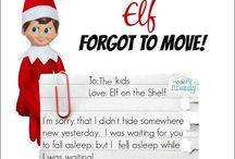Elf on the shelf's ideas