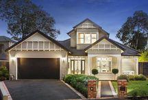 Hampton facades and layouts