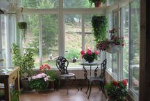 Sunroom & reading nooks / by Christan Phillips