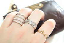 Trendy Jewelry / Trendy Rings and Bracelets