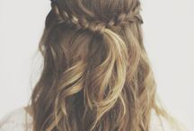 Wedding Hair // Half Up Half Down Styles