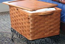 Storage Baskets by Peterboro Basket Company / by Peterboro Basket Company