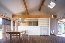 igawa-arch/A house surrounded by beautiful garden
