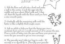 Pancake Day Ideas / Fun pancake recipes and pictures!