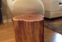 mesa tronco