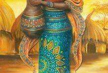 afrikali kadinlar