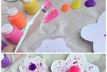 Nápady - výtvarka (předškolní děti)