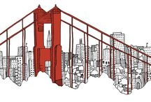 San Francisco / City illustrations!