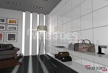 Revestimientos para espacios de estilo moderno / Os proponemos originales ideas para el revestimiento de espacios de estilo moderno.