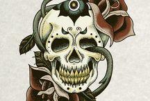 Tattoo Flash Art / Tattoo Flash Art