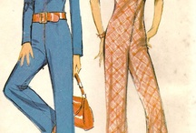 That 70s Vintage my style / Everything I love love love about 1970's vintage fashion.  I wish this was my wardrobe.