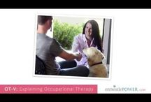 Occupational Therapy Works / Occupational Therapy provides solutions for living.