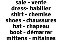 Clothes in French