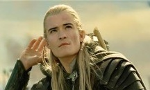 Orlando Bloom as Legolas / Legolas is the best Lord of the Rings character evar and I <3 Orlando Bloom because he embraces his Beta Maleness and inner feminitiy.