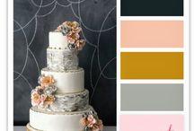 Wedding color themes