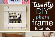 diy frame wall