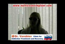 Naltrexone implant for heroin addiction