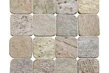 Golden Quartzite Tile / Hardness: Medium Sealer: Recommended Application: Inside Walls, Inside Floors, Outside Walls,  Outside Floors, Frost Resistant, Wet Area, Saun