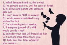 Mums Sayings