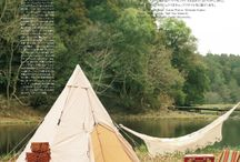 Glamping with Nordisk tents