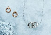 """VIKING COLLECTION / """"This way the vikings started to design their jewelry. Twisted forged silver, gold or iron. I have interpreted our Scandinavian roots in my own way with the collection Vikings.""""   — Efva Attling"""