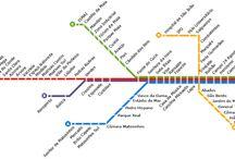 porto metro map