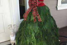christmas tree dresses