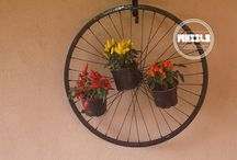 Furniture made from Wheels / Check out these awesome products made from recycled wheels!