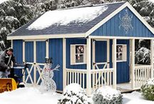 storage sheds / by Nancy Melton